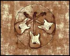 Electric Guitar, Musical Theme Rugs,Rock and Roll  ***FREE SHIPPING***