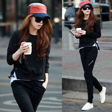 Blacks Long Sleeve Hooides Sweats Womens Suits Tracksuits Outfits Pants Trousers