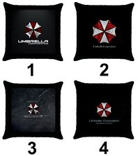 Resident Evil Umbrella Corporation Games Movies Cotton Throw Pillow Case Cover