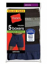 HANES MENS COMFORTWEAR KNIT BOXERS MKCBX5 - 5 PACK