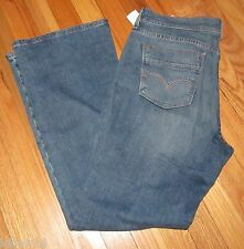 Levis Ladies Womens 515 Mid Rise Boot Light Blue Jeans 12S NWT