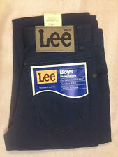 New Original Vintage Lee Twill Colors Unwashed Jeans Navy