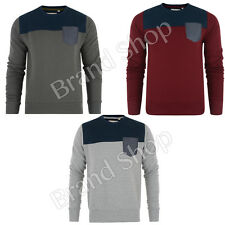 MENS JUMPER CONSPIRACY QUILTED  JUMPER  TOP SWEATER