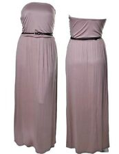 LD4 New Womens Mocha Formal Cocktail Wedding Party Long Maxi Summer Beach Dress