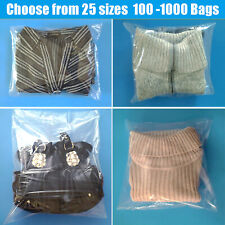 Clear Poly Bags 1 Mil Open Top Plastic Packaging Packing Baggies FDA LDPE Shirt