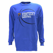University of Kentucky UK BALL on BLUE Tee Shirt KY Wildcats Basketball