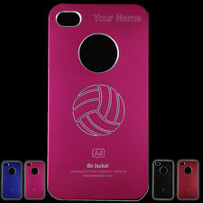 Personalized Iphone 4 / 4S Volleyball Case with name and number
