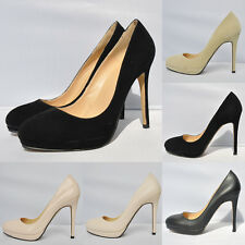 Loslandifen STYLE HIGH HEEL CASUAL SMART WORK PUMP COURT SHOES 806-1 UK2-9