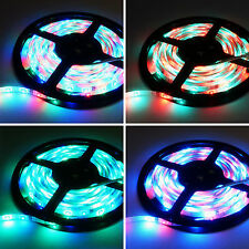 5M 300 LED Strip RGB Light 5050 Waterproof 3528 SMD Flexible Tape Lamp + Remote