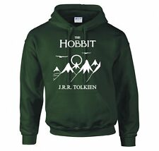 HOBBIT, LORD OF THE RINGS, FRODO, BOOK COVER HOODIE