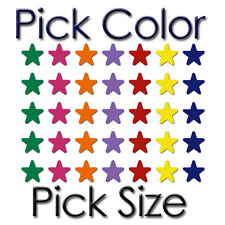 STAR PICK COLOR / SIZE VINYL WALL ROOM DECOR DECORATION ART DECAL STICKER (S-01)