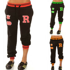 Cool Women's Pants Trackies Gym Fitness Joggers Sweat Pants Collage