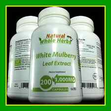 Natural Whole Herbs, White Mulberry Leaf Extract Capsules, FAST Weight Loss