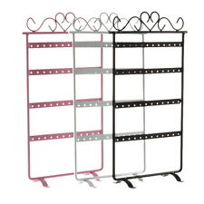 48 Hole Earrings Ear Studs Jewelry Display Rack Metal Stand Holder Showcase HS