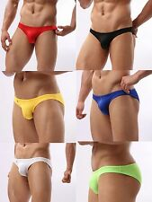 New 1 Men's Sexy Brief thin Underwear Can use as swimwear  Size M L  XL Pants