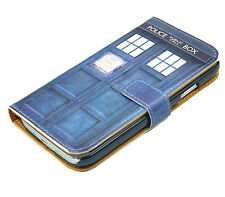 Doctor Who Tardis Leather Wallet Card Flip Pouch Case For Samsung Galaxy S3