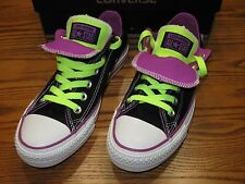New Converse Chuck Taylor Unisex Double Tongue Ox Low Shoes Black 140062F