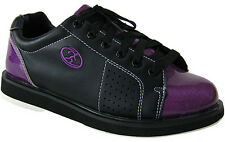 Elite Athena Black/Purple Women's Bowling Shoes - New - 2-Year Warranty