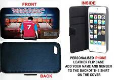 PERSONALISED UNOFFICIAL ASTON VILLA IPHONE PU LEATHER CASE