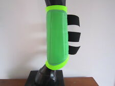 Horse Arena or Work & Exercise Boots More Protection LIME GREEN AUSTRALIAN MADE