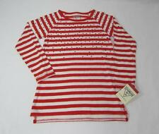 NWT Osh Kosh GIRL'S LONG SLEEVED COTTON STRIPED TOP WITH SPARKLES
