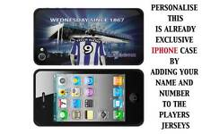 PERSONALISED UNOFFICIAL SHEFFIELD WEDNESDAY IPHONE TPU SILICONE CASE