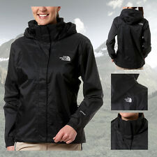 THE NORTH FACE WOMENS RESOLVE WATERPROOF JACKET COAT - BLACK - XS S M L XL