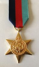 1939- 1945 Star Medal, WW2, Loose, Court or Swing Mounted Option, Full Size