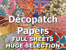 Decopatch Paper for Decopatch Glue BLUE Colourways  99p & Only one p/p