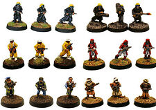 15mm Unpainted Sci-Fi Humanity-'Hordes of The Future' Miniatures Multi-Listing 1