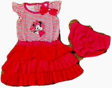 NWT Disney Infant Girl Tutu Minnie Mouse Dress W/Diaper Cover Size 12M LAST ONE