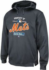New York Mets Majestic Authentic Property Of 1/4 Zip Hoodie Big & Tall Sizes