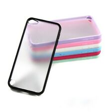 Unique Thin Matte Hard Case Cover TPU Frame Hybrid For Apple iPod Touch 5 Hot