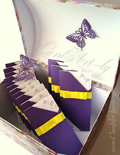 """WEDDING INVITATIONS PACK """"LUXOR"""" printing + personalized"""