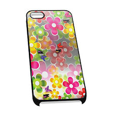 Cover for iPhone 4/5 Case #123 - Flowers floral cute pattern hippy 60s nature