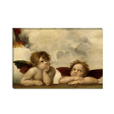 The Two Angels Raphael Canvas Print Painting Reproduction