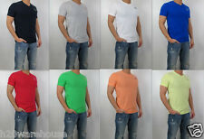 NWT Abercrombie & Fitch Men A&F Muscle Fit  Bushnell Falls Tee V Neck T Shirt