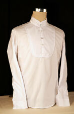 REGENCY-EDWARDIAN-VICTORIAN-STEAMPUNK-GOTHIC White Evening Shirt in all sizes