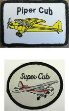 Piper Cub Aircraft USA Made Patches WWII Airplanes by All Star Warbirds Custom