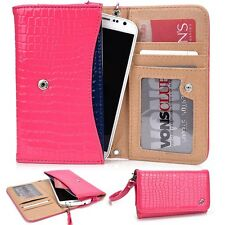 Kroo Designer Stylish Wristlet Wallet Cover for HTC Smartphone VP1