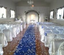 Satin Aisle Runner 100 ft Long 5ft wide - Wedding, Red Carpet Events - Seamless