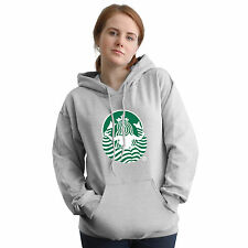 Stabilitees Funny FHM Mermaid Girl Inspired Starbucks Hoodies, All Colours
