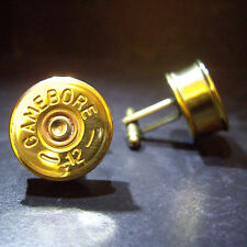 Gamebore Shotgun Shell Cartridge Cap Cufflinks Clay and Game Shooting