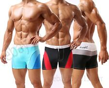 Patchwork Men's Surf Swim Boxer Trunks Shorts Swimwear Swimsuit Size M L XL XXL