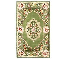 Royal Palace Elegant Medallion 3' x 5' Wool Rug CHECK ADD FOR COLORS H199864