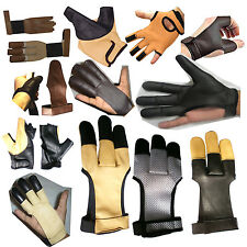 ARCHERS LEATHER SHOOTING GLOVES,--