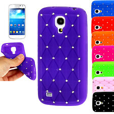 Bling Diamond Silicone Rubber Case Cover For Samsung Galaxy S 2 S3 S4 Mini Ace