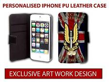 SPECIAL AIR SERVICE REGIMENT SAS IPHONE LEATHER PHONE CASE