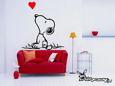 Pegatina de vinilo decorativo pared Vinyl wall sticker Comic Snoopy Dog Perro