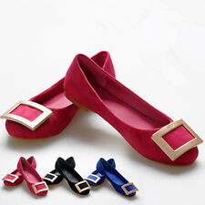 2014 square buckle in Europe and the leisure fashion women's shoes to work